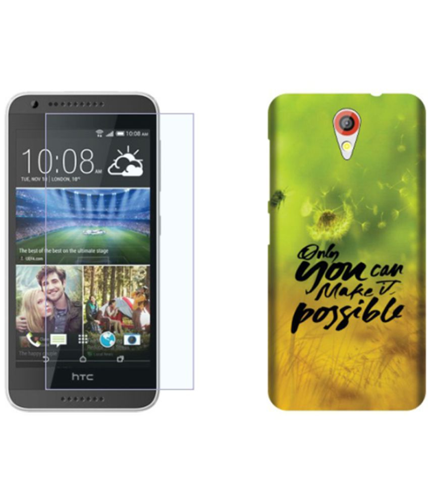 HTC Desire 620G Dual Sim Cover Combo by Design Worlds