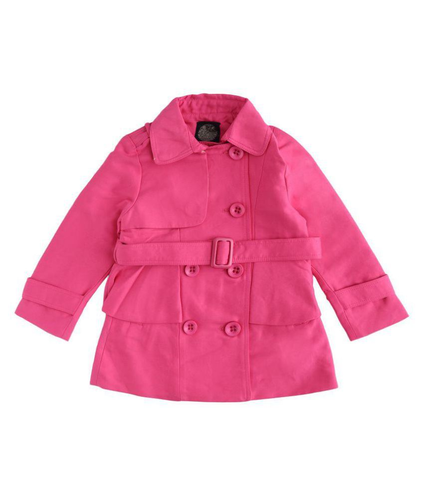 One Friday Pink Wollen Jacket