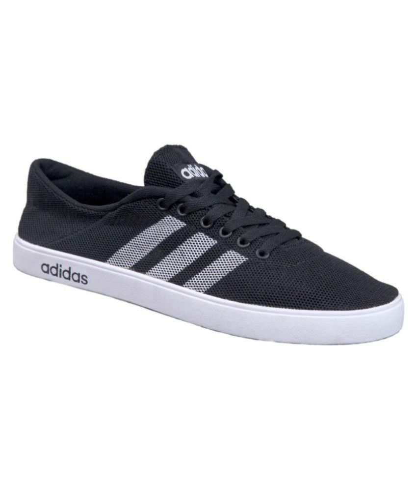 adidas neo black casual shoes available at snapdeal for rs