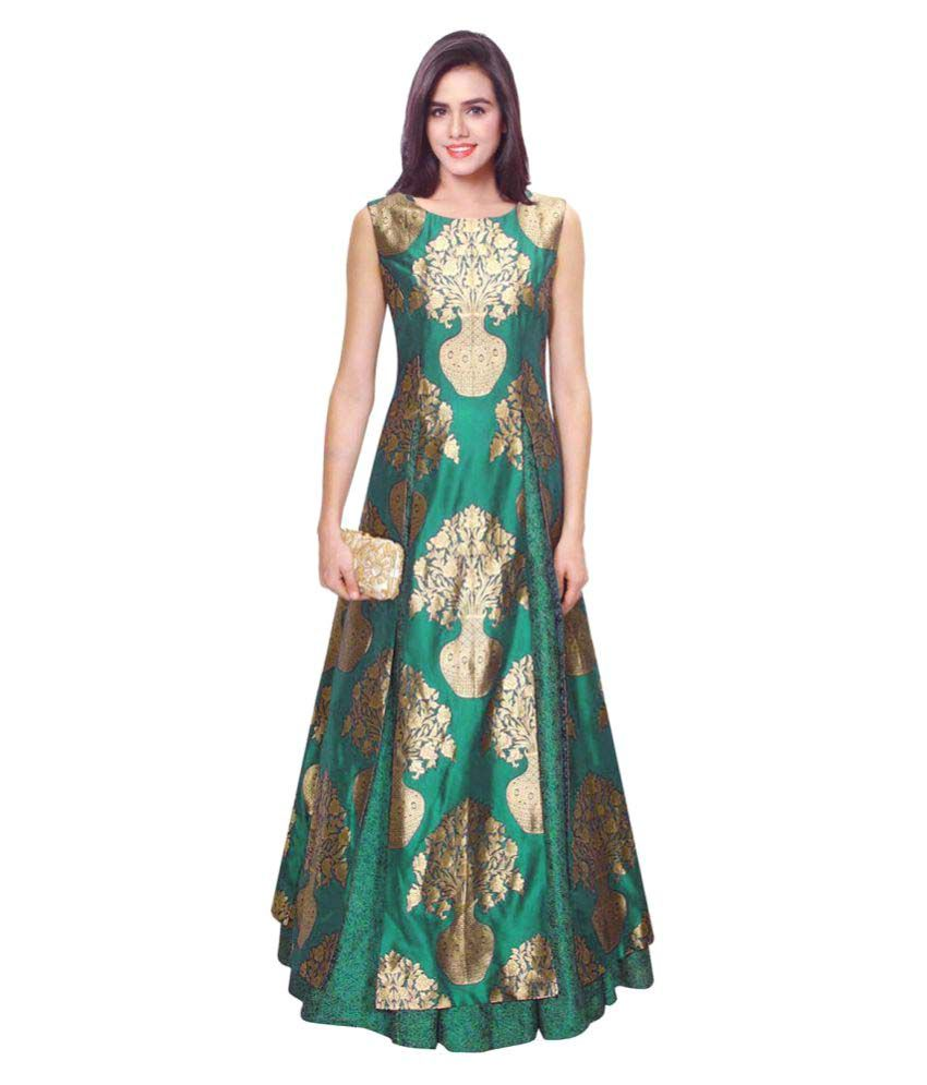 937df7386f891 Fabkaz Silk Ball gowns