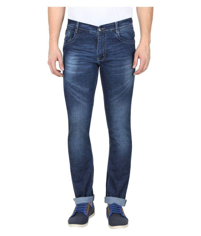 Gradely Blue Regular Fit Jeans