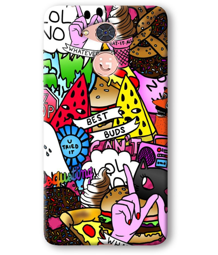 Gionee S6 Pro Printed Cover By Cell First
