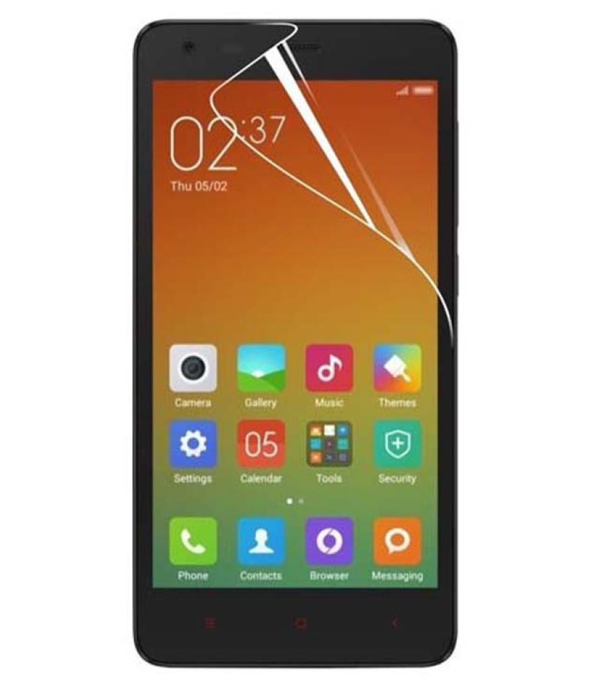 Lenovo A2010 Clear Screen Guard By Backer The Brand