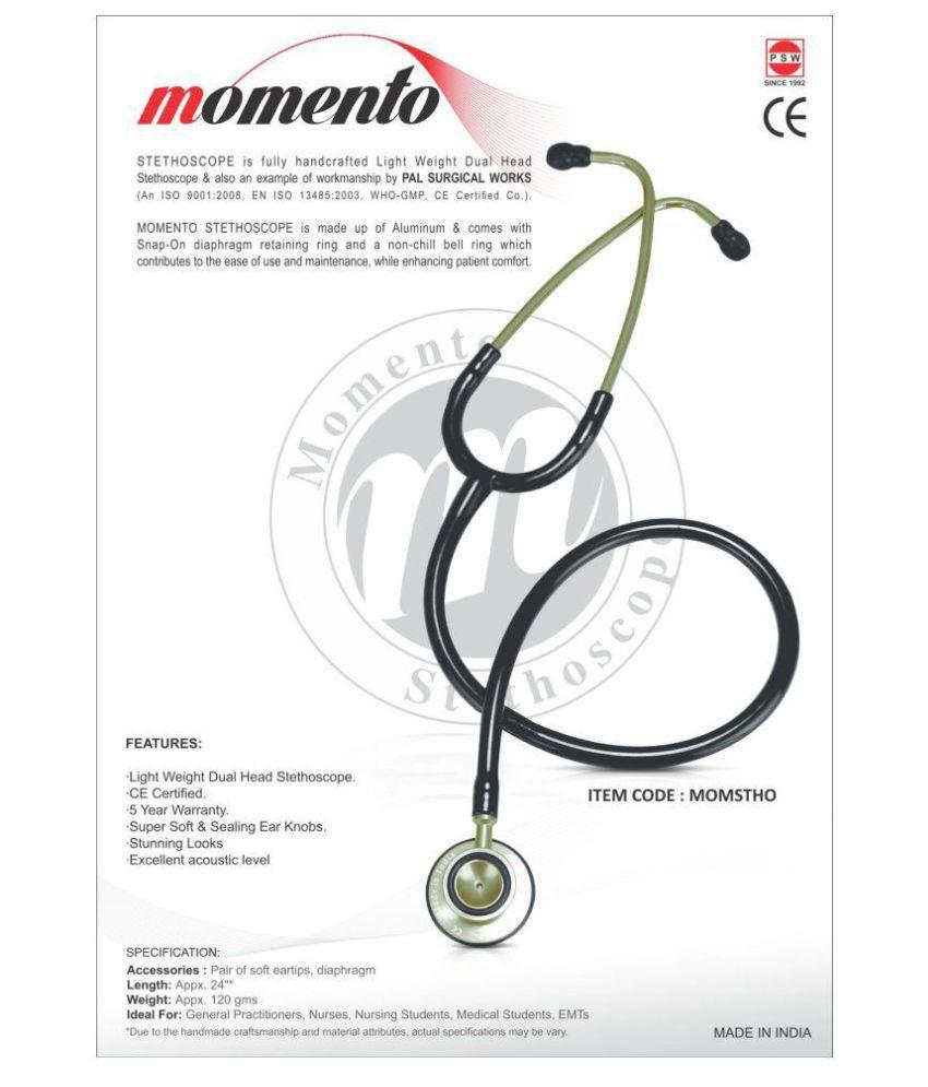 Momento Stethoscope MOMSTHO Olive Green