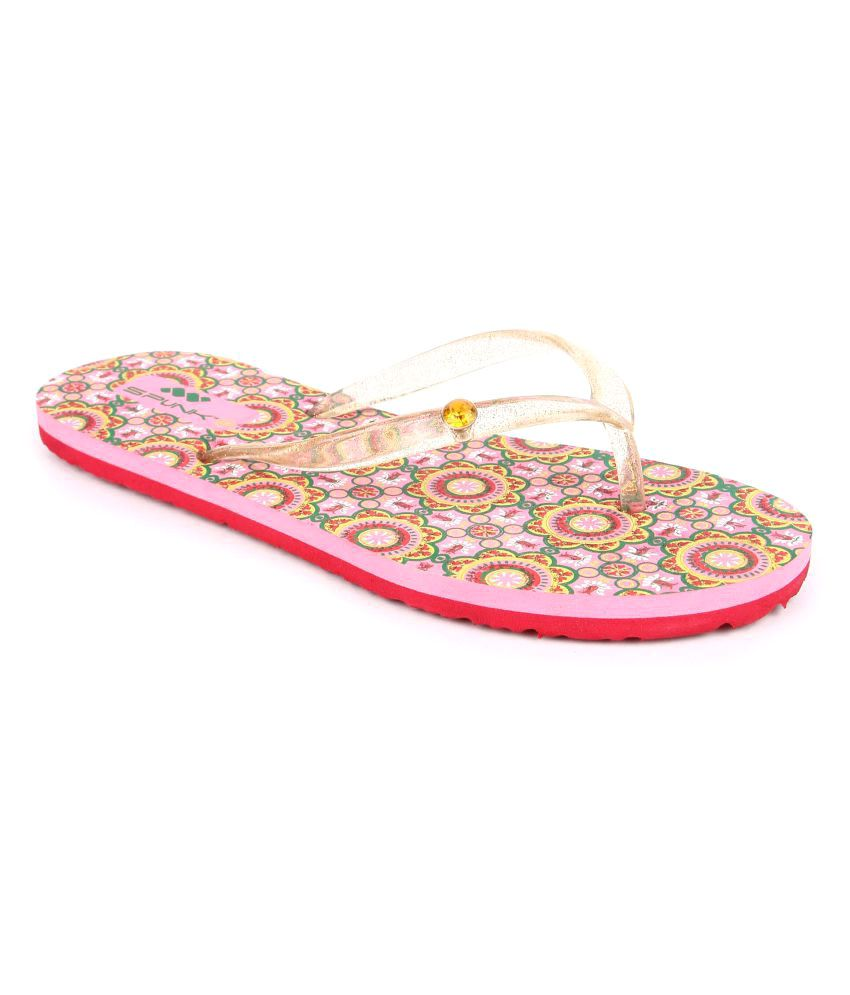 Spunk Multi Color Slippers