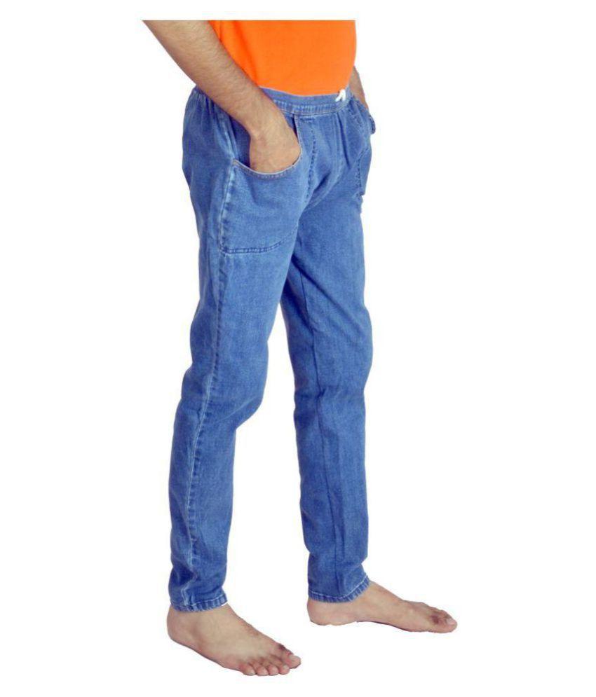 Shapeart Cotton Blue Crossbar L-XL