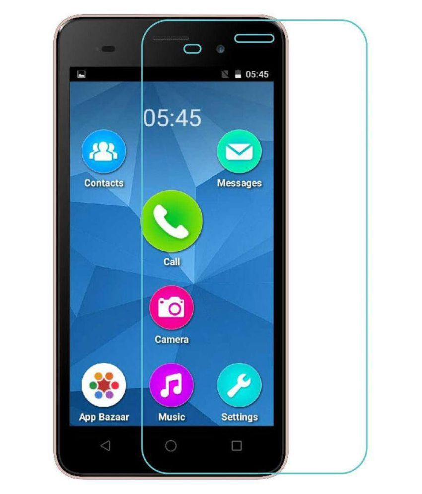 Micromax Canvas Spark 2 Tempered Glass Screen Guard By Crook