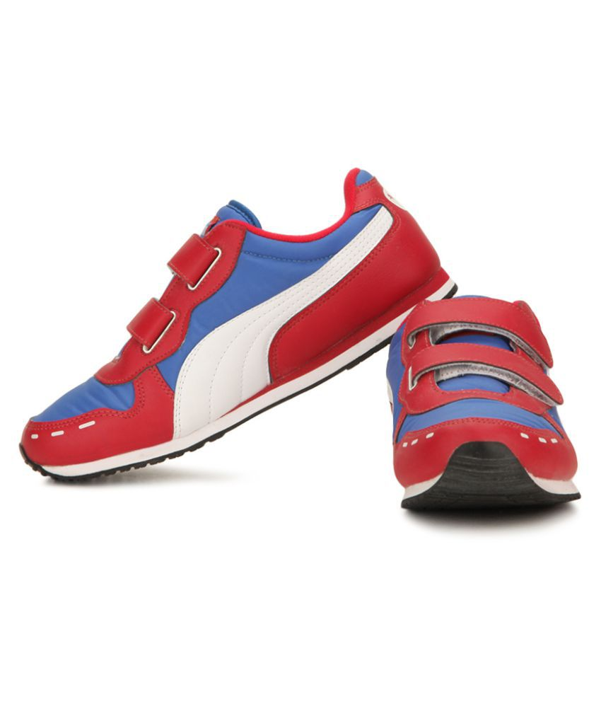fea7a7c4ec3 Puma Cabana Velcro Jr DP shoes Price in India- Buy Puma Cabana ...