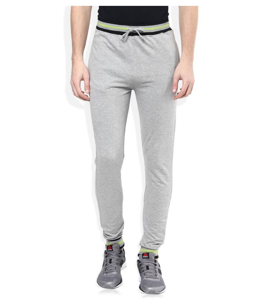 Urban Yoga Grey Regular Flat Trouser