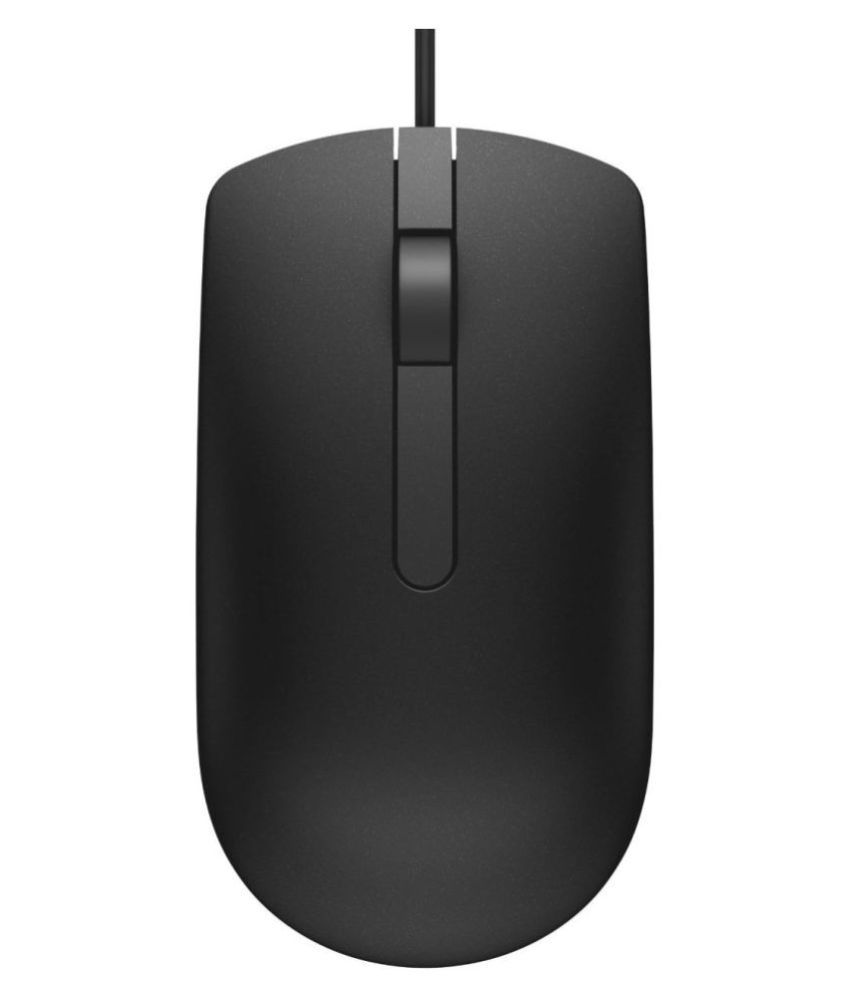 Dell KB216 Black USB Wired Mouse