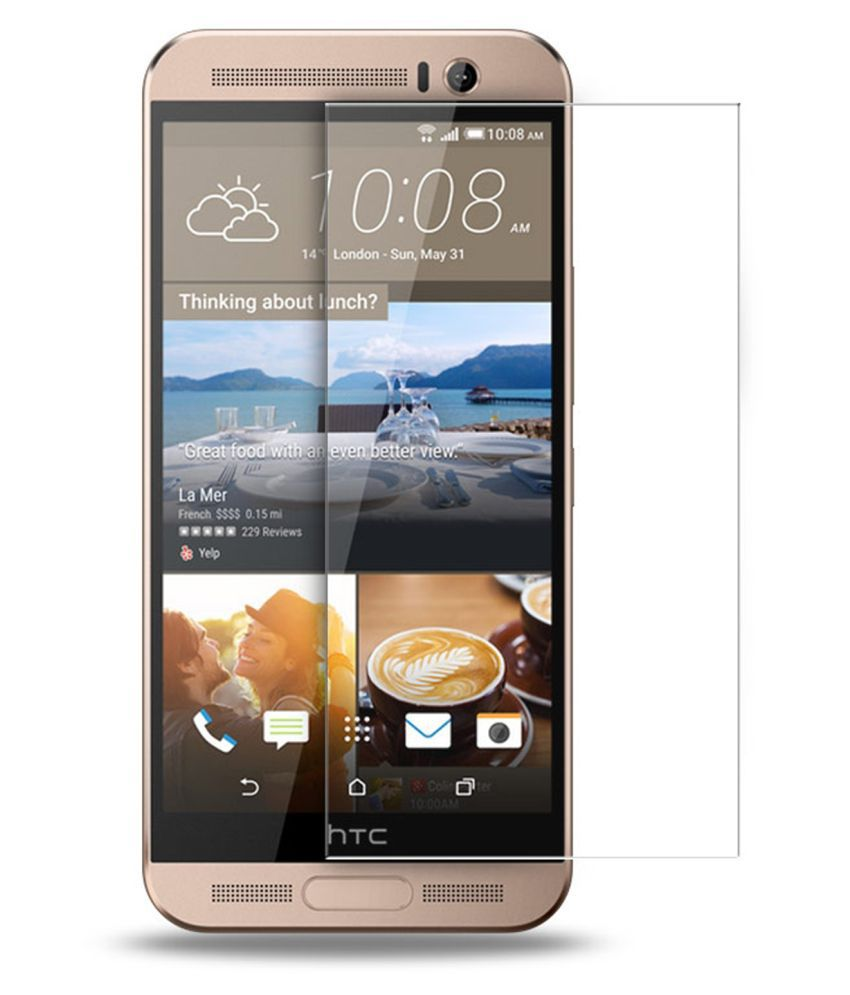 HTC One ME Tempered Glass Screen Guard By Tempered glass hd