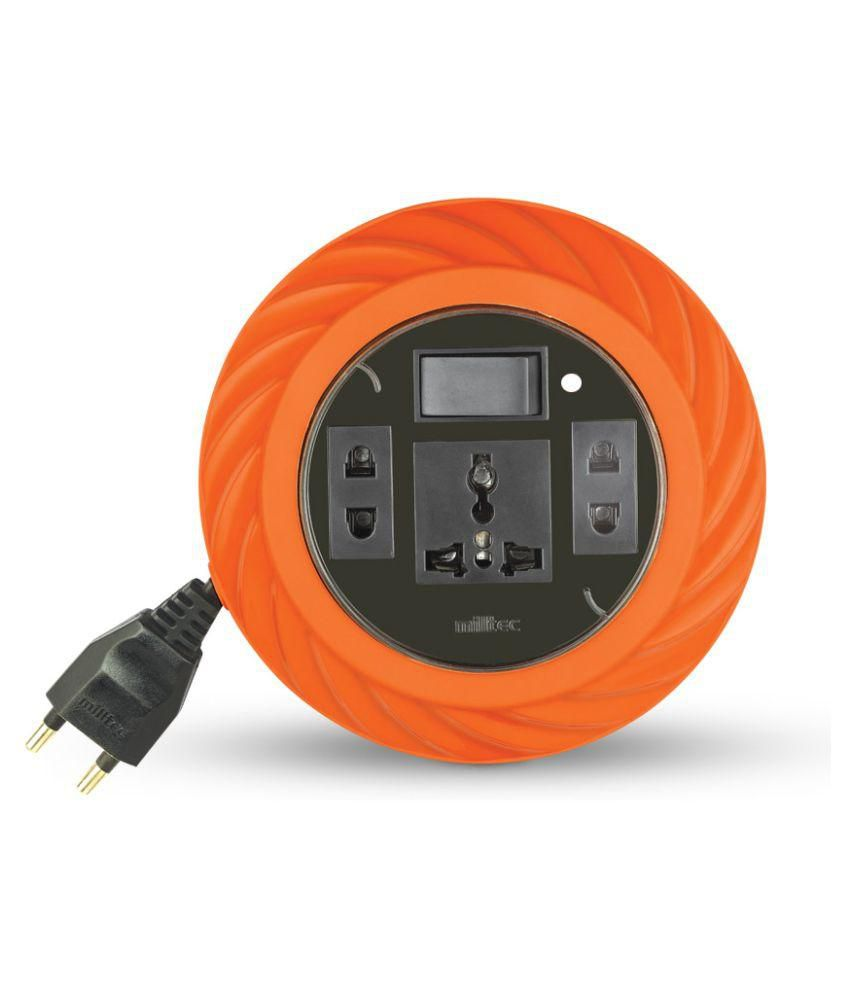 Buy MILLTEC 2 Pin Twist Extension Box With Indicator (5 Mtr Wire ...