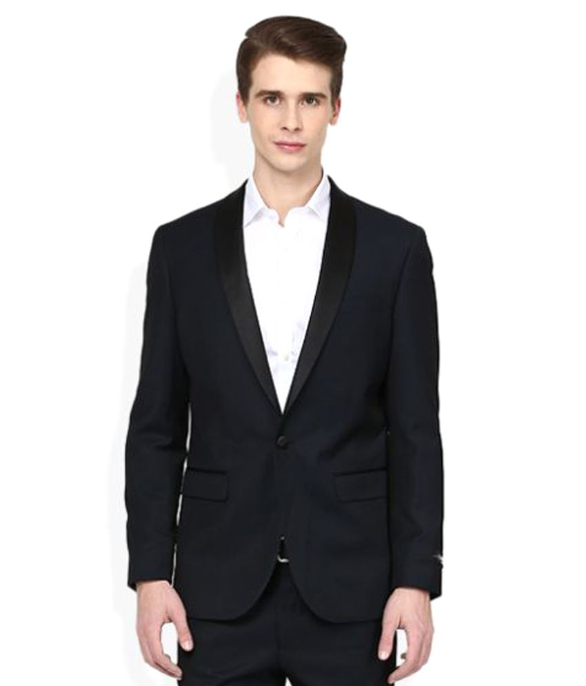 Giovani Navy Plain Formal 2 Piece Suits