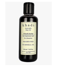 Khadi Natural Khadi 18 Herbs Hair Oil 18 Herbs Hair Oil 210 Ml