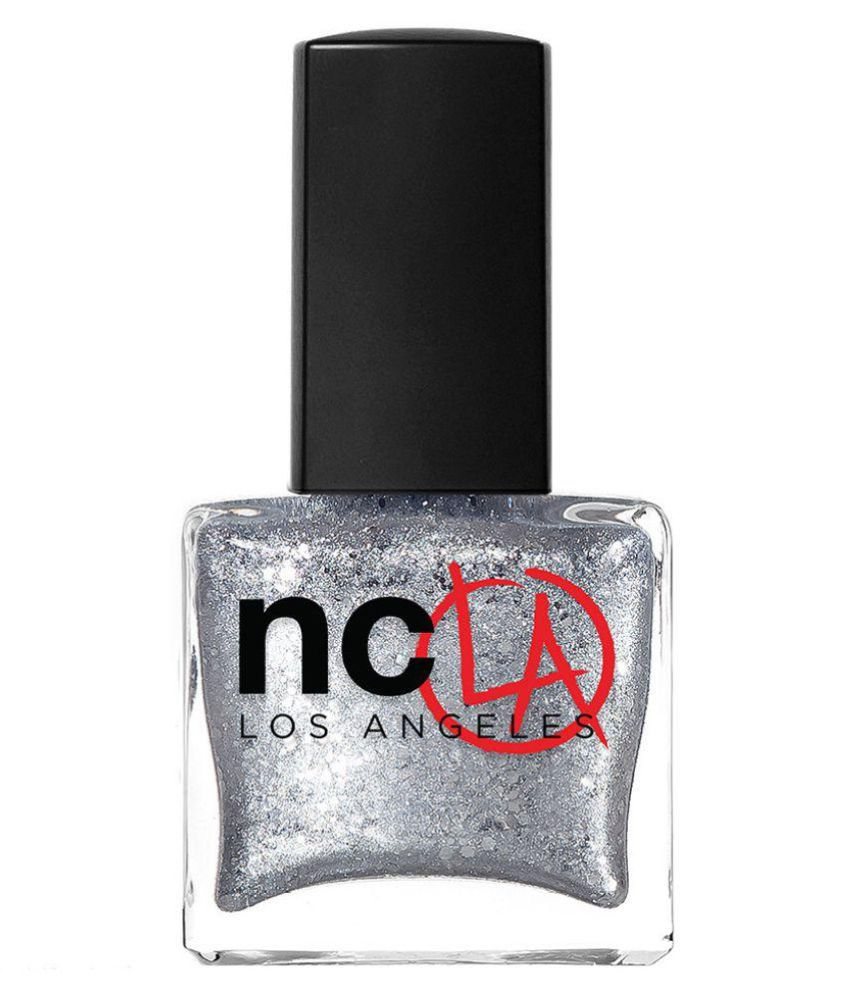 NCLA Nail Polish Silver 15 ml