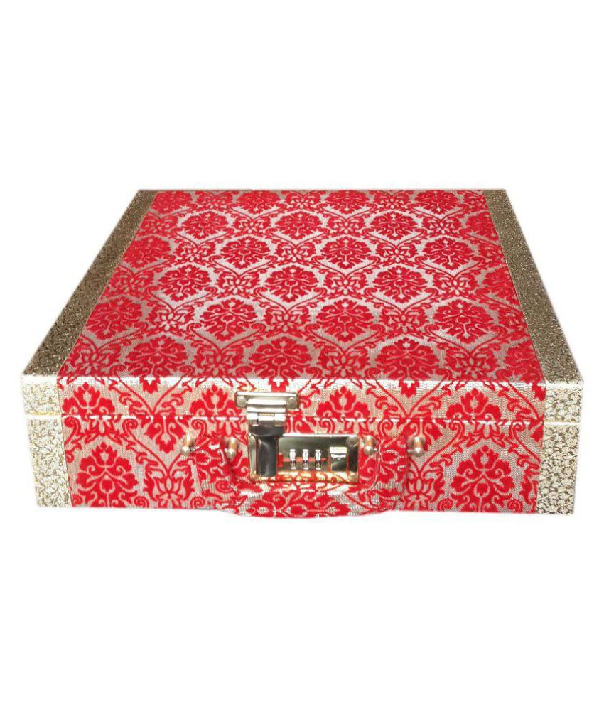 Bonanza Red Palki Jewelry Bangle Box
