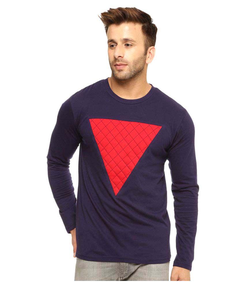 Gritstones Navy Round T-Shirt