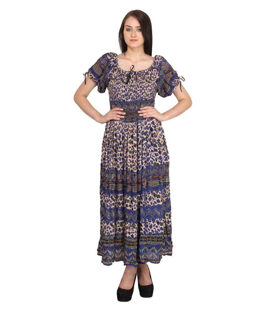 Indian Fashion Guru Rayon Fit and Flare