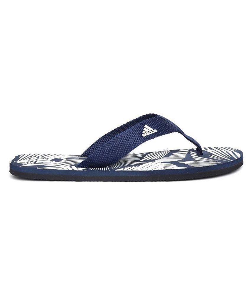 3c278b7a927e Adidas Blue Thong Flip Flop Price in India- Buy Adidas Blue Thong ...