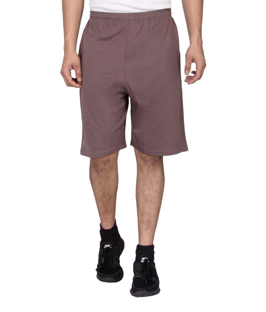 Black Unicorn Brown Shorts