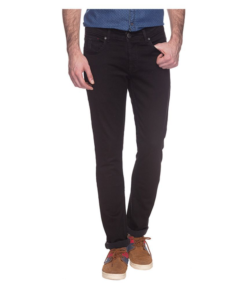 Buffalo By FBB Black Slim Solid