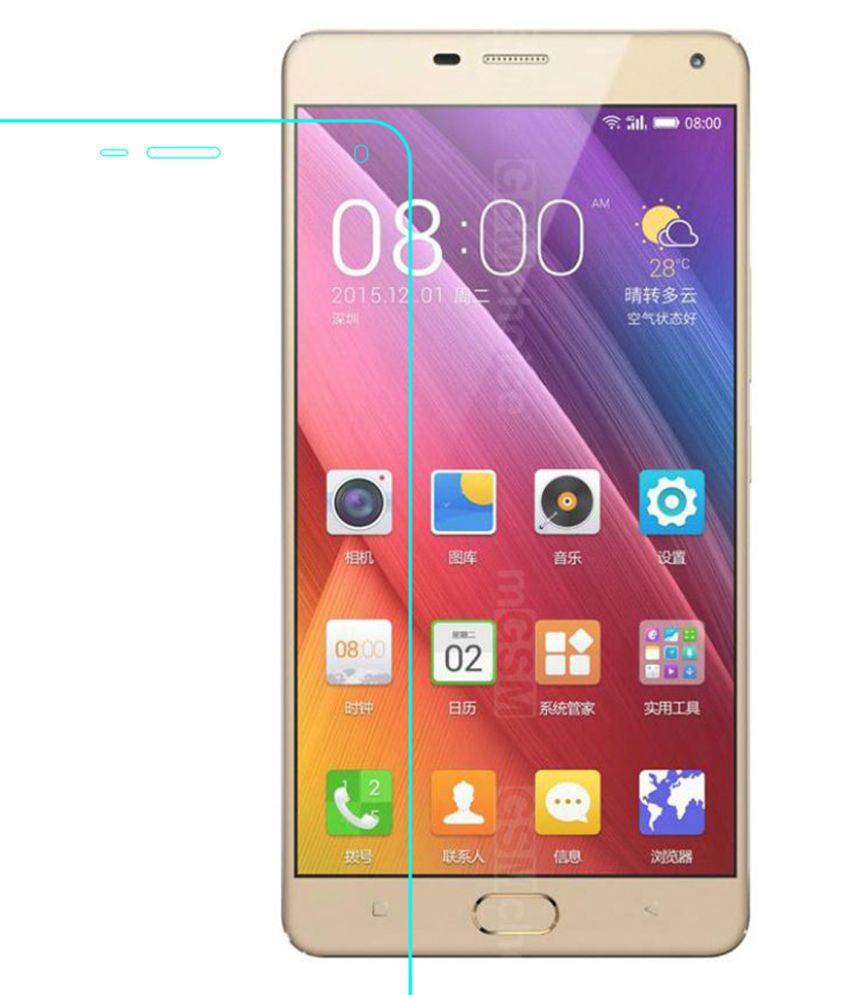 Gionee Marathon M5 Plus Tempered Glass Screen Guard By Glasscandy