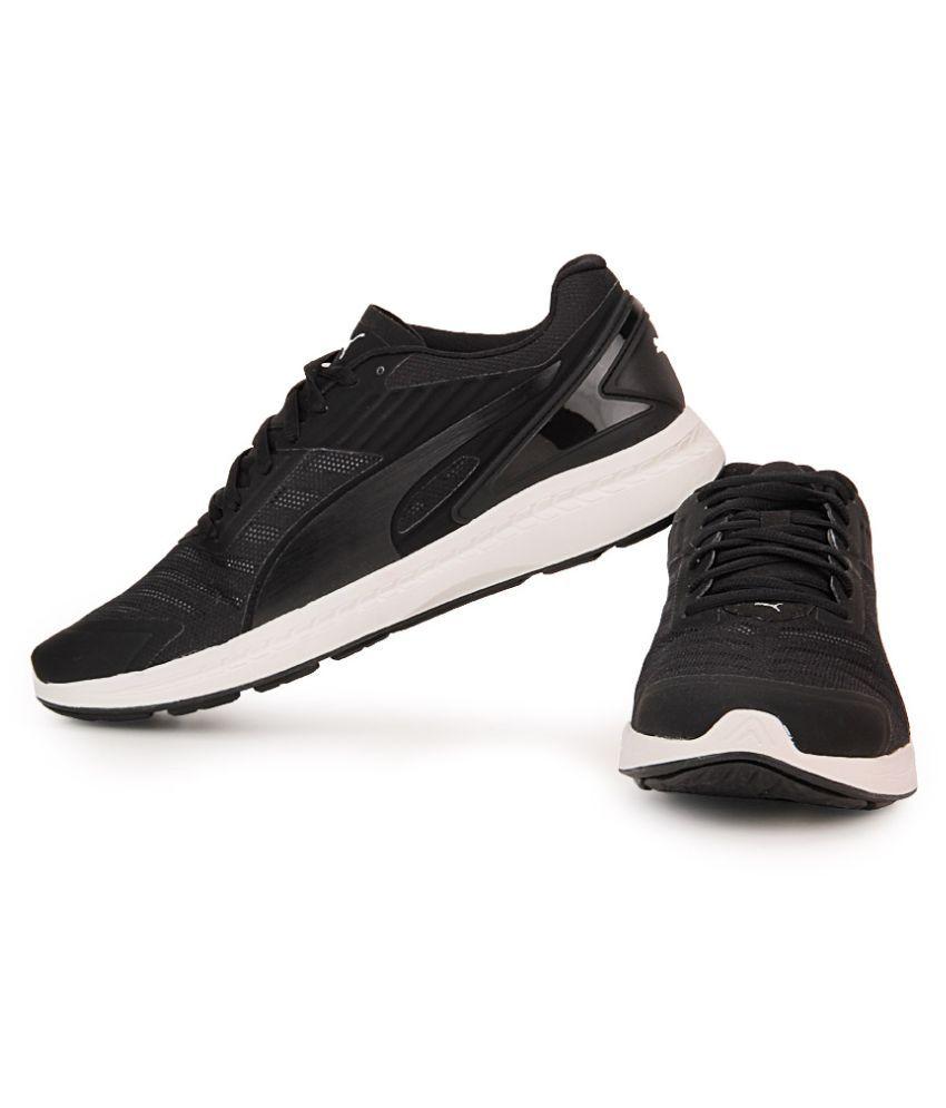 1590b3d8a9b Puma Puma IGNITE v2 Black Running Shoes - Buy Puma Puma IGNITE v2 ...