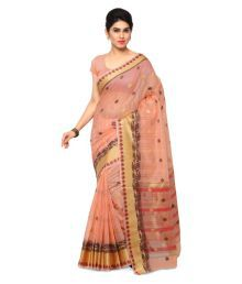 Varkala Silk Sarees Multicoloured Chanderi Saree - 665977296333