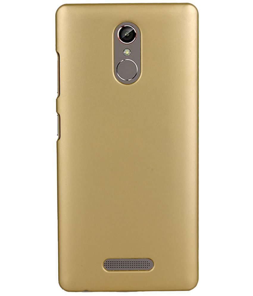 new styles d93a4 f100d Gionee S6s Cover by Joe Martin - Golden - Plain Back Covers Online ...