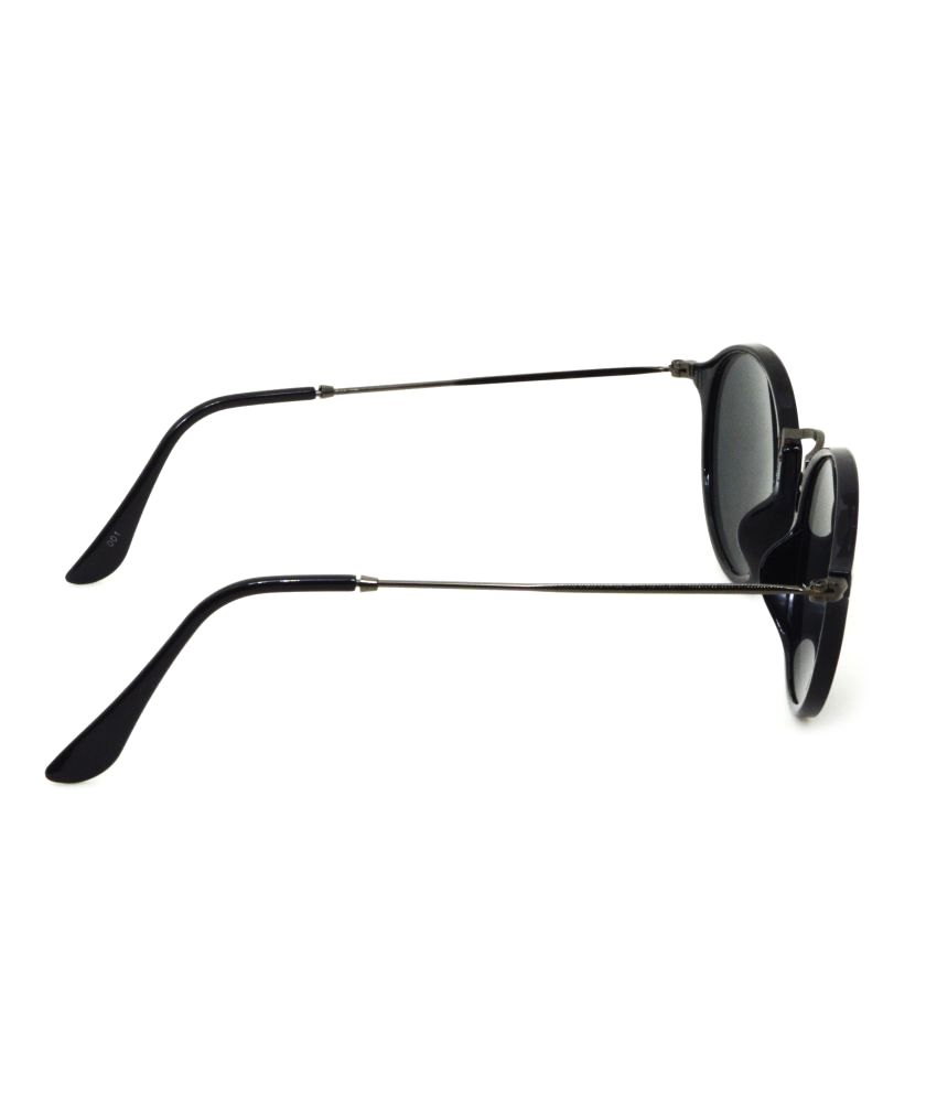 f57cf6db0b Hrinkar Black Round Sunglasses ( HRS276 ) - Buy Hrinkar Black Round ...
