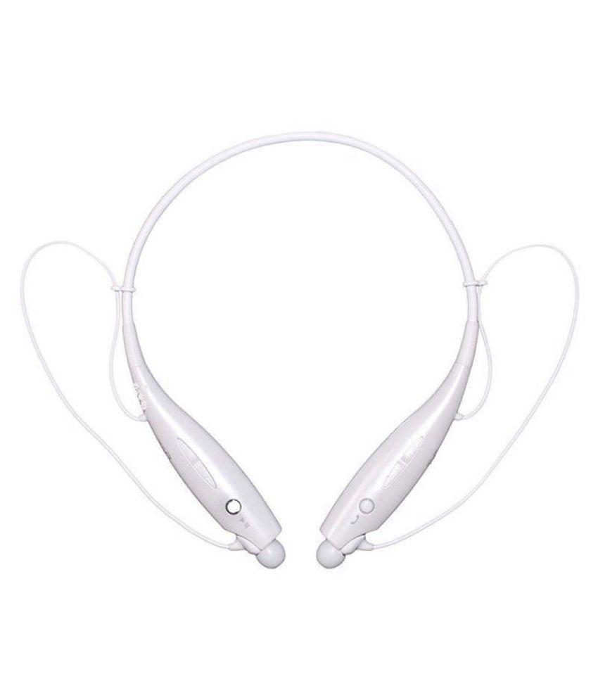 AKIRA i5 HD Wireless Bluetooth Headphone White