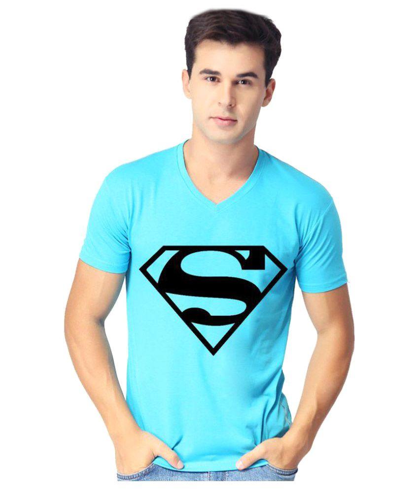 Indian Engineer Blue V-Neck T-Shirt