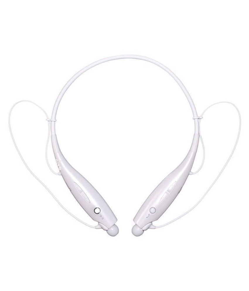 JIKRA Wireless Bluetooth Headphone White