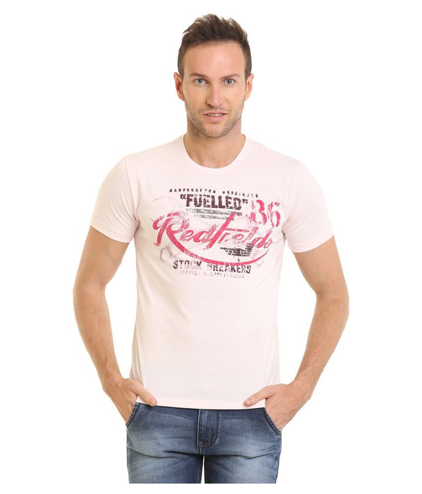 HOLS Off-White Round T-Shirt