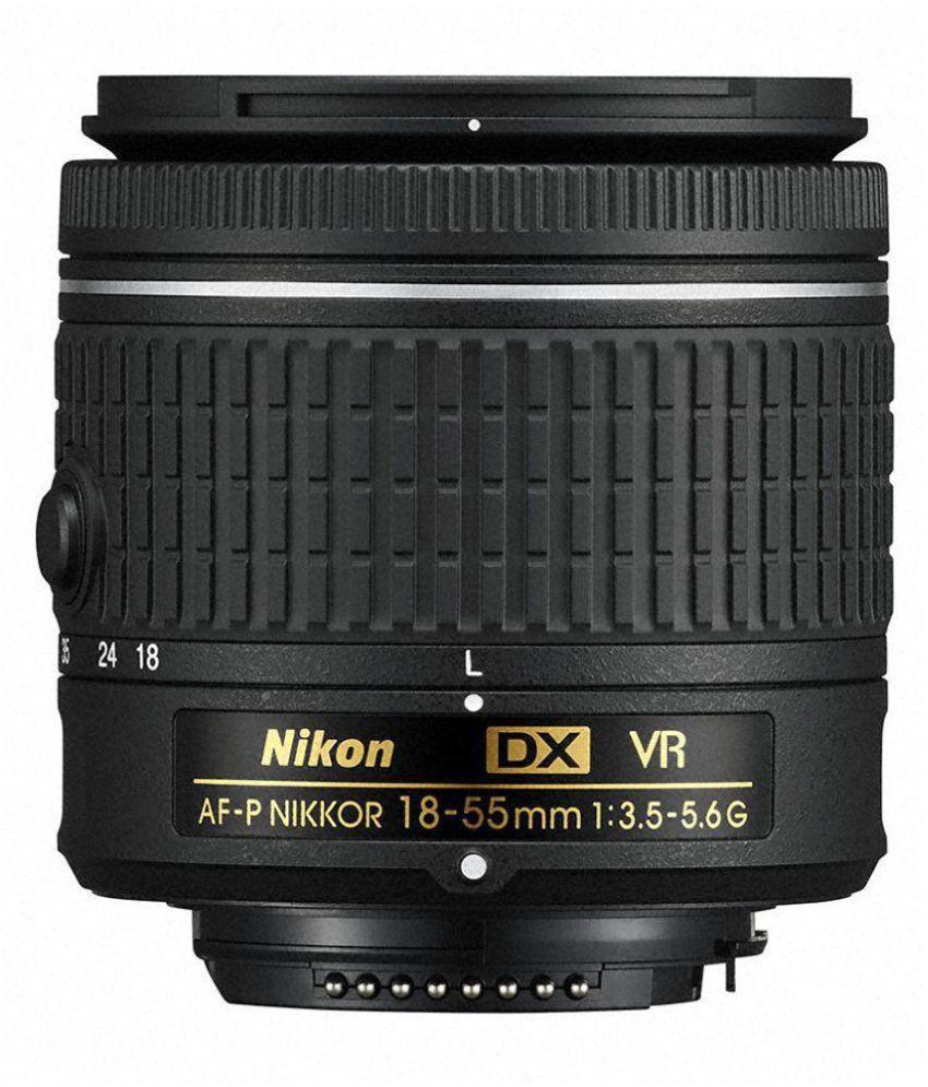 Nikon DX VR AF-P 18-55mm 3.5-5.6G lens