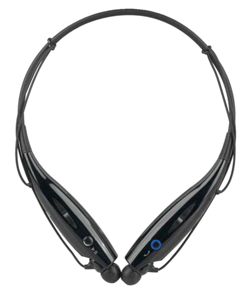 SYL Wired Bluetooth Headphone Black