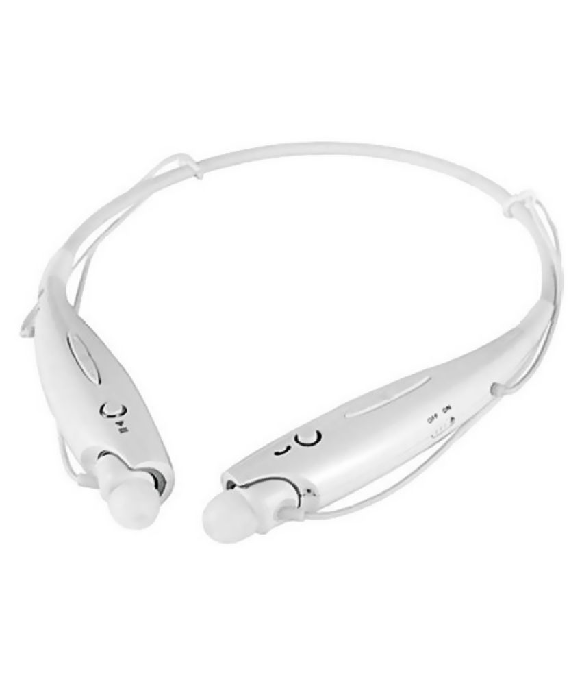 Jikra Wired Bluetooth Headphone White
