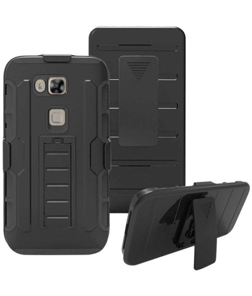 official photos d97d3 d708e Huawei G8 Holster Cover by Ziaon - Black