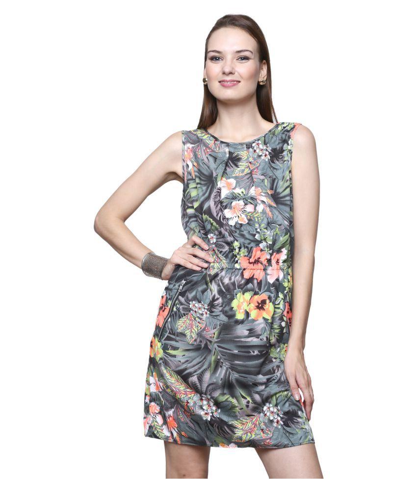 Trendsnu Poly Crepe Dresses