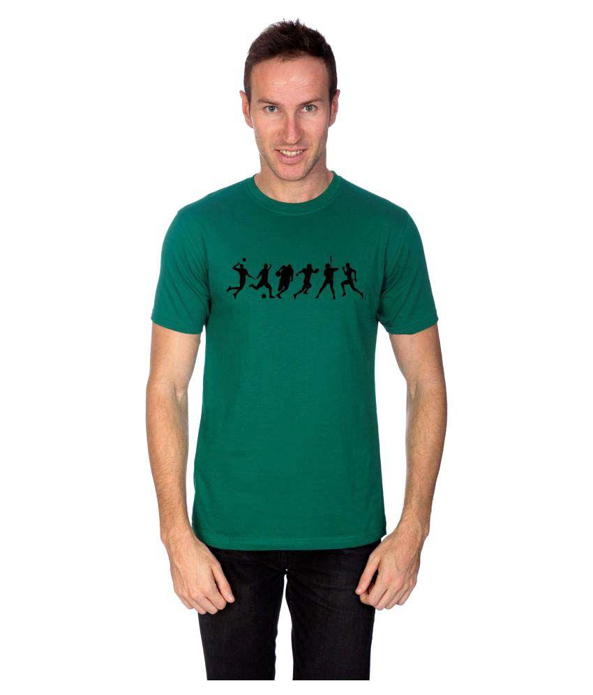Artist Green Round T-Shirt