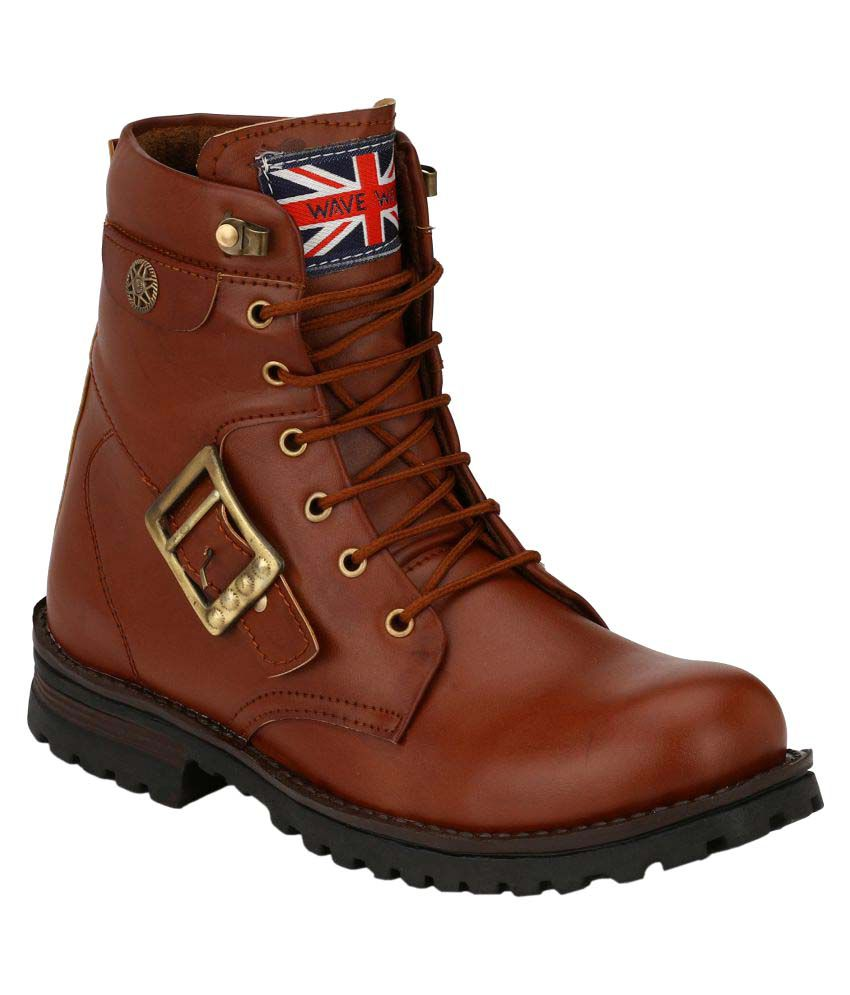 Wave Walk Brown Casual Boot  available at snapdeal for Rs.810