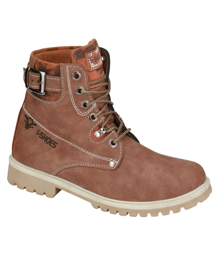 Wave Walk Brown Casual Boot
