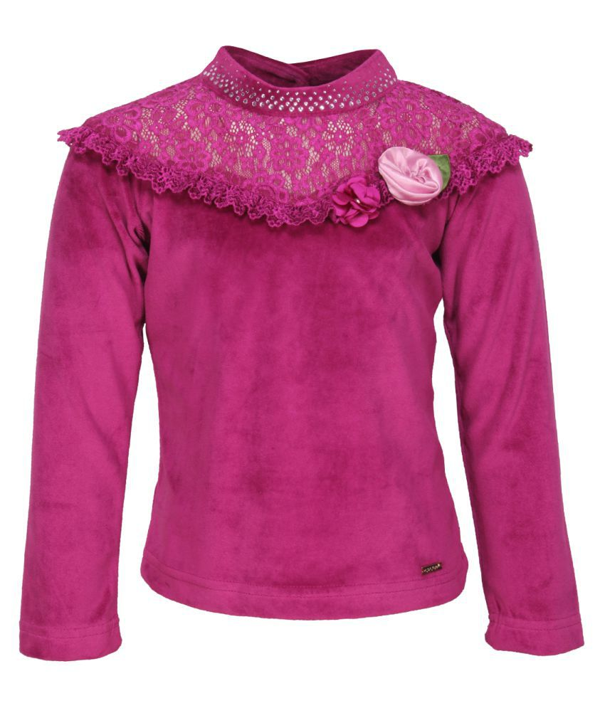 Cutecumber Giul's Purple Winter Top