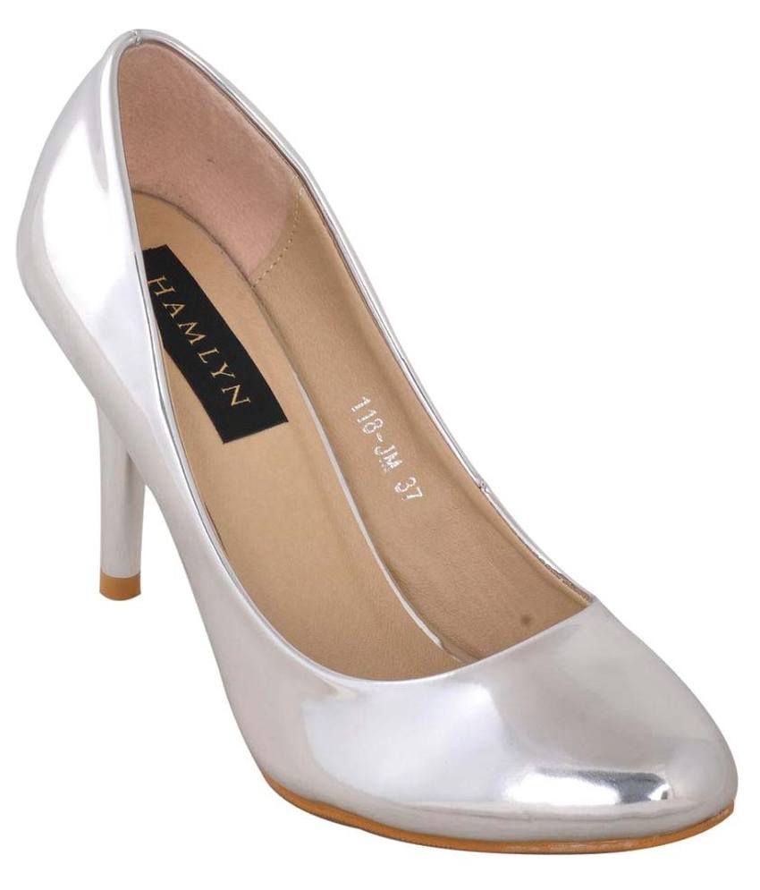Hamlyn Shoes Silver Stiletto Heels