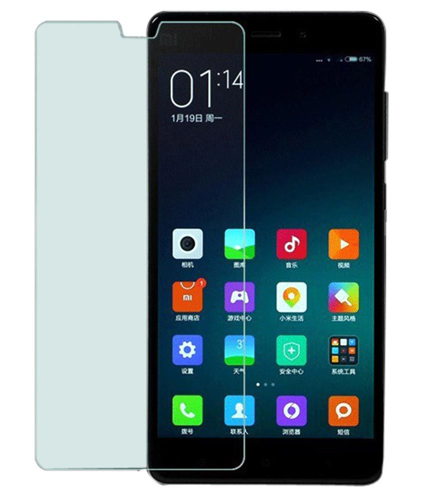 Xiaomi Mi4i MZB4300IN Tempered Glass Screen Guard By Shaildha