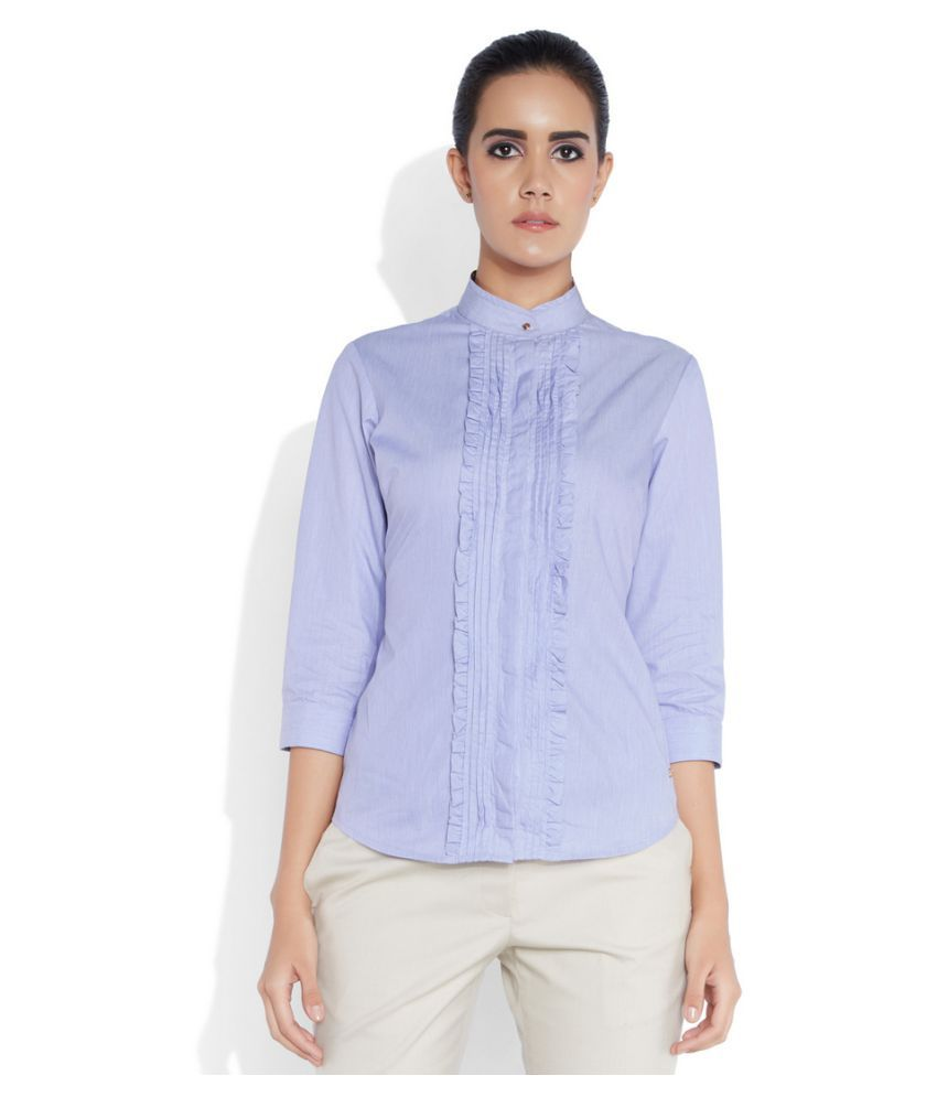 Park Avenue Woman Cotton Shirt