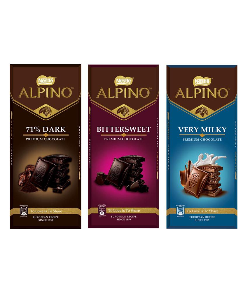 NESTLE ALPINO Premium Chocolates (Pack of 3) 270 g