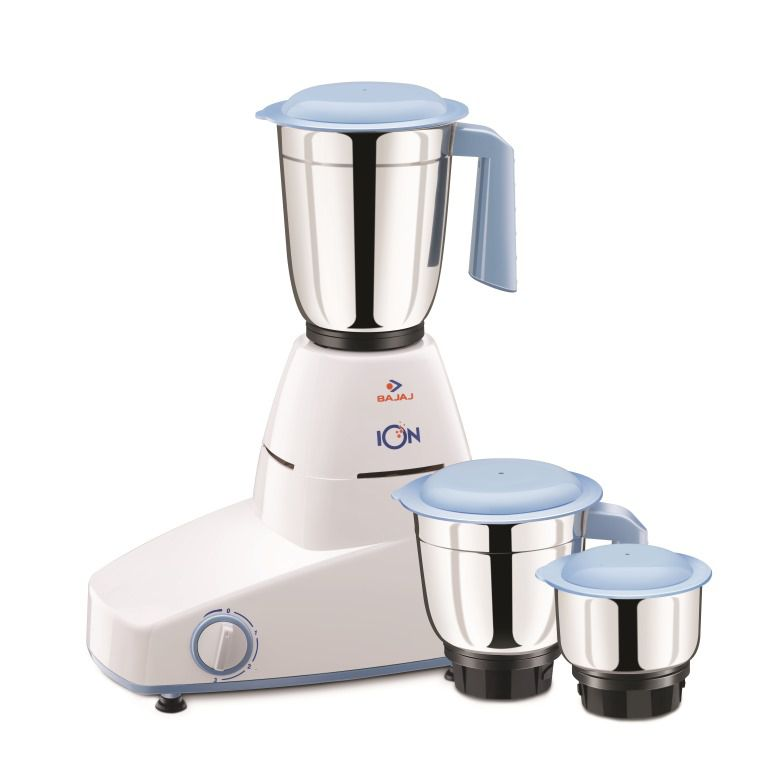 Minimum 50% off Mixers & Grinders By Snapdeal | Bajaj ION 500 Watt 3 Jar Mixer Grinder @ Rs.1,919