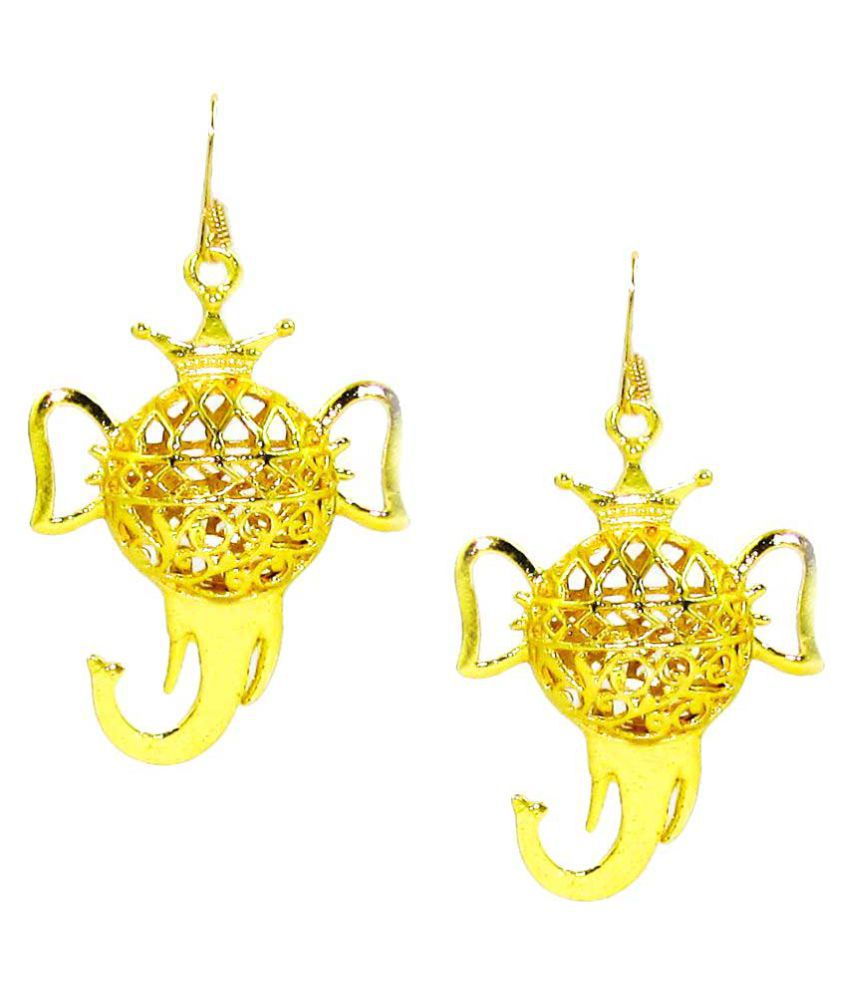 D&D Golden Hanging Earring
