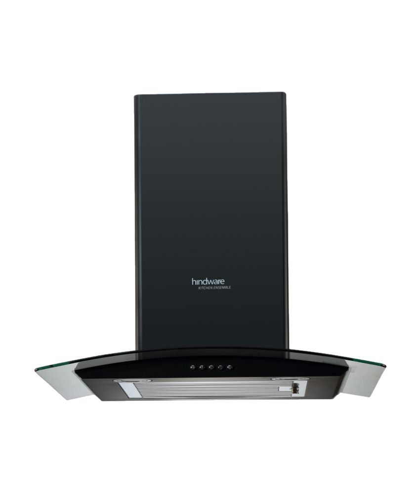Upto 52% Off On Chimneys By Snapdeal | Hindware Sabina 60Blk 1100 m3/hr 50 cm Stainless Steel Hood Chimney @ Rs.9,641